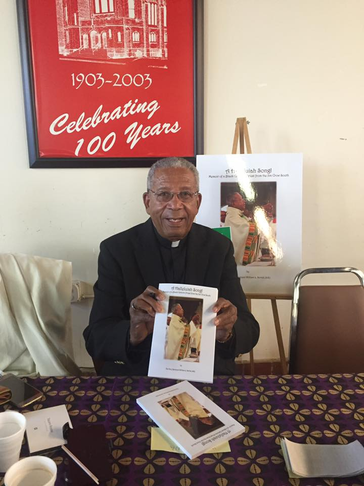 Father William Norvell, a Josephite priest and former leader of the order, authored a book about serving as a priest in the Jim Crow south.